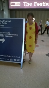 the yellow dress