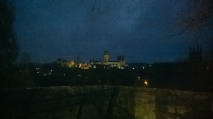 Durham City at night