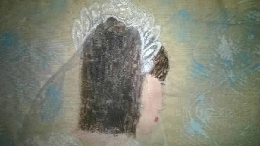 The Bride (detail, head)