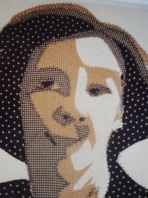 'Self-portrait' by Amanda Ogden (aka Amanda Jane Textiles)