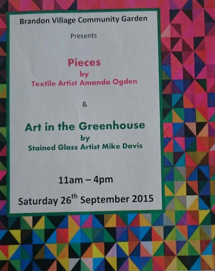Brandon Village Community Garden Exhibition