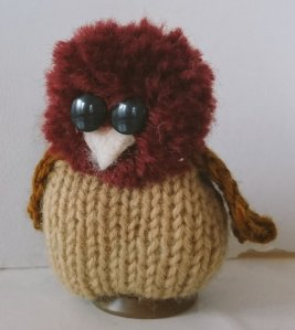 Yarn Owl by Amanda Ogden