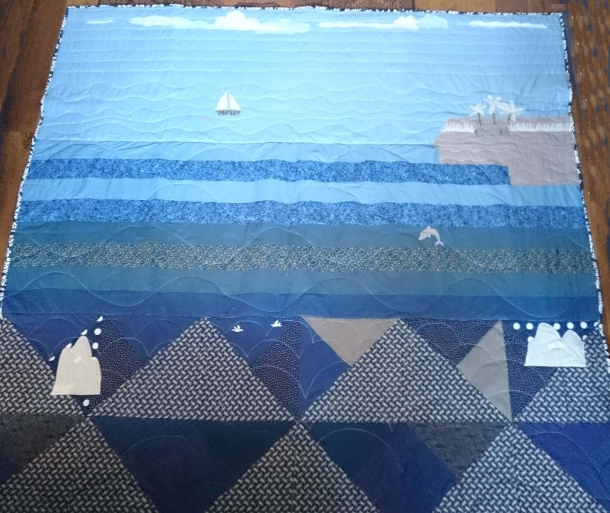 the 'dolphin' quilt