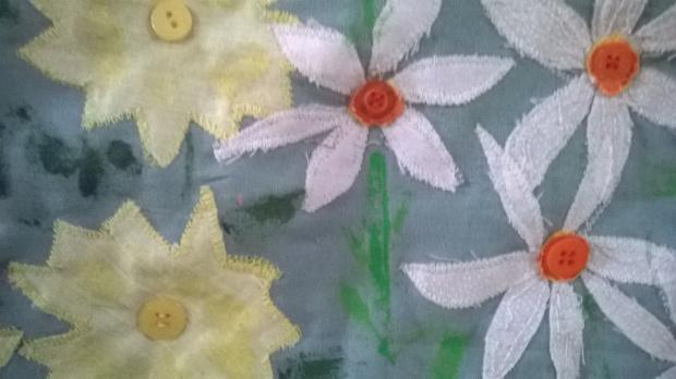 In the Walled Garden, detail 1, Amanda Ogden