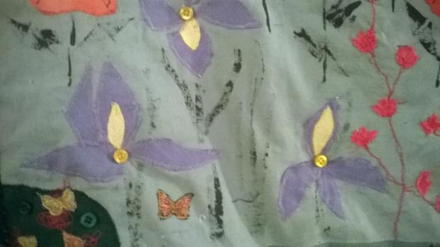 In the Walled Garden, detail 2, Amanda Ogden