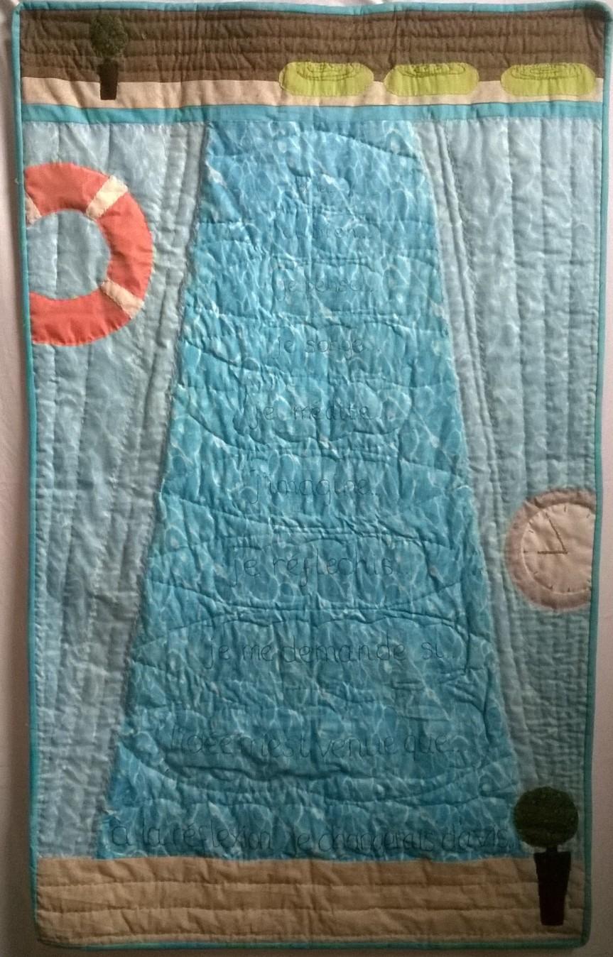 'Radisson Blu' quilt by Amanda Ogden