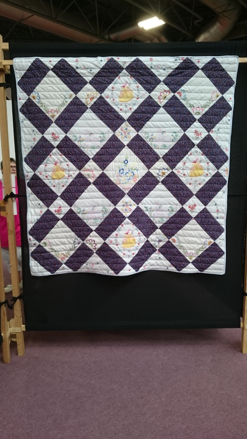 'Forget me not' Festival of Quilts 2016