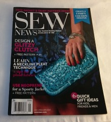 Sew News magazine, Jan/Feb 2017