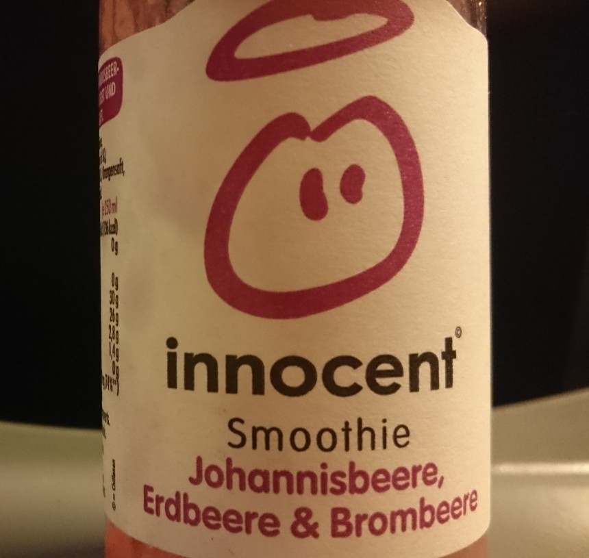 Innocent smoothie bottle.JPG