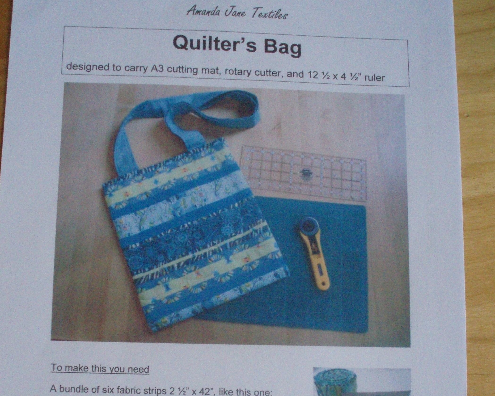Sewing and Quilt patterns by Amanda Ogden