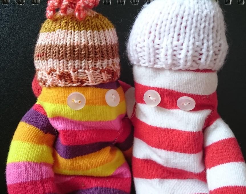 sock people in hats.JPG
