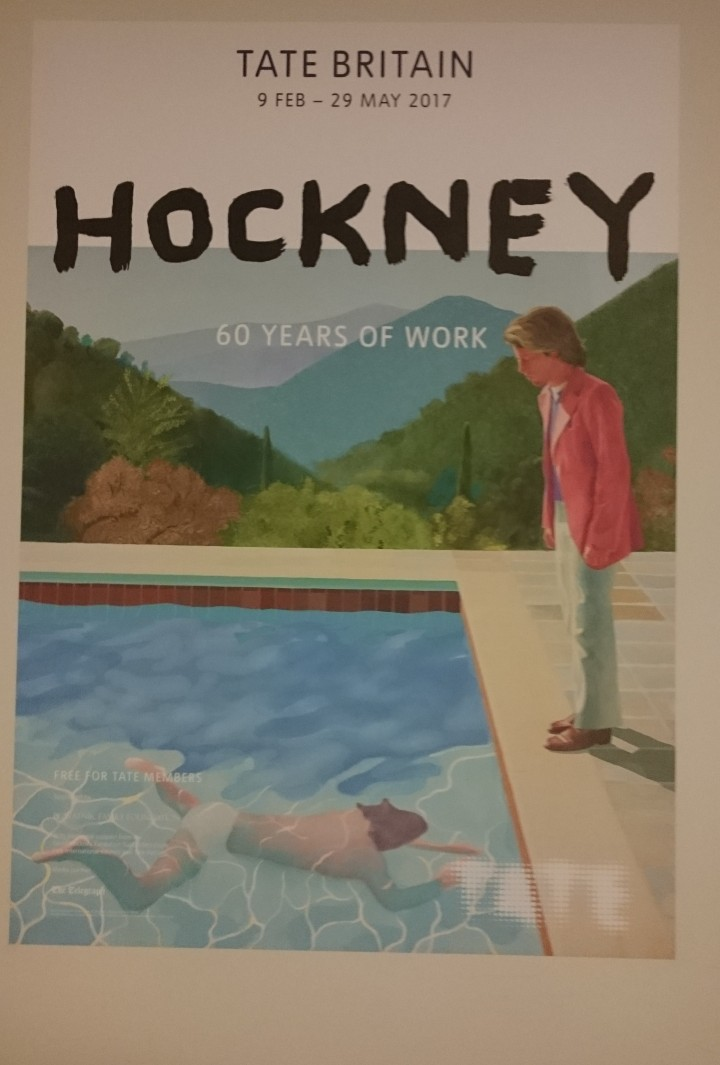 David Hockney poster, Tate Britain.JPG