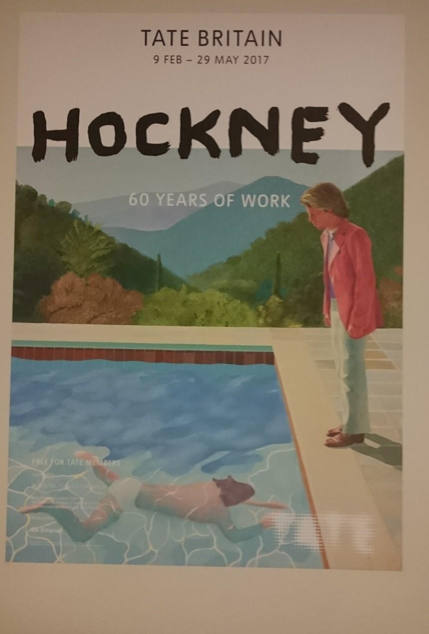David Hockney poster, Tate Britain.JPG
