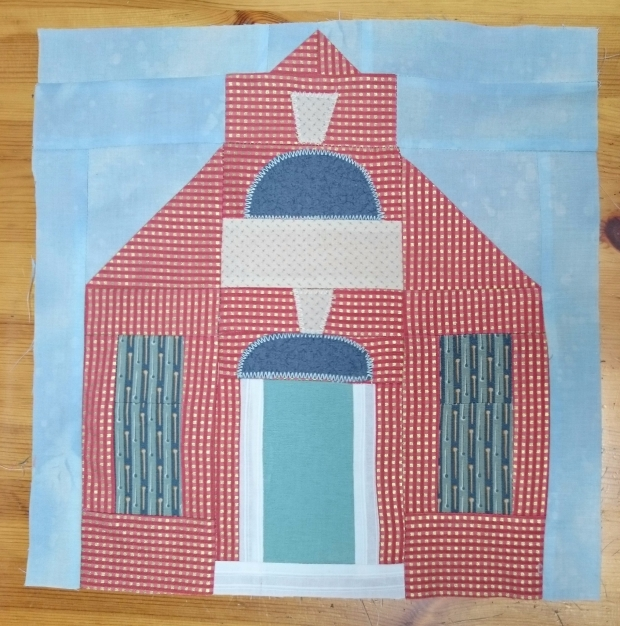 Happy House, finished block.JPG