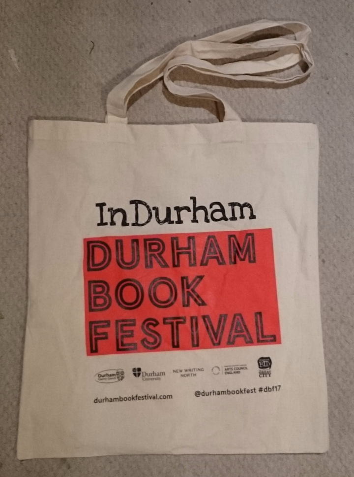 Durham Book Festival 2017 calico bag