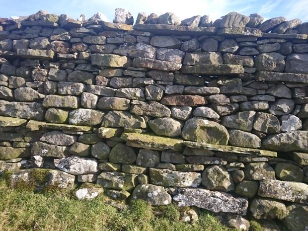 Dry stone wall, Wensleydale