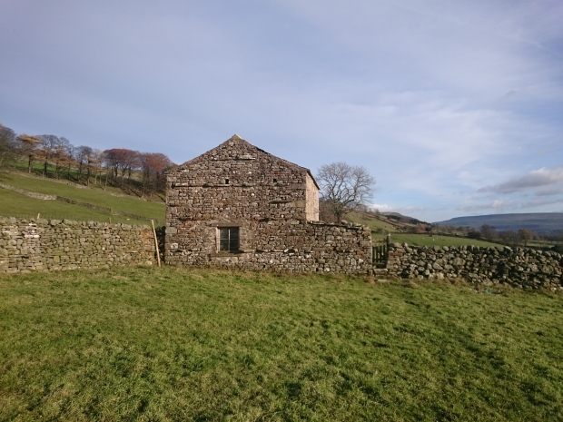 Stone farm building in Wensleydale