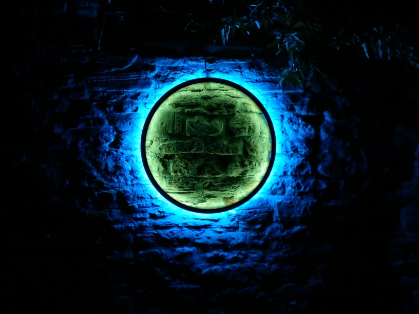 'Harmonic Portal' by Chris Plant, Durham Lumiere 2017