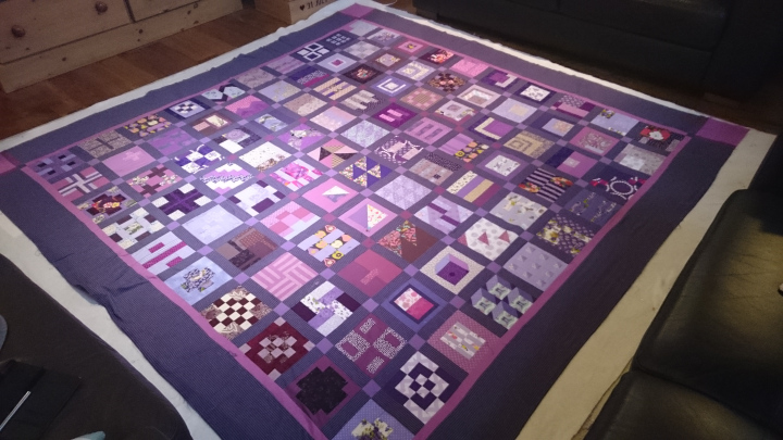 layering up a quilt