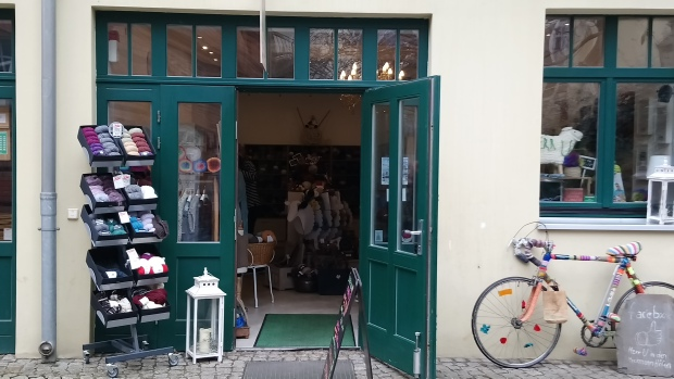 Herr U shop entrance, Berlin, photo by Amanda Jane Textiles.JPG