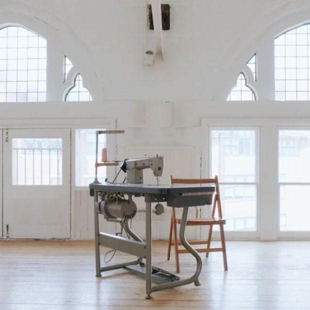 Textiles studio in Clerkenwell, London