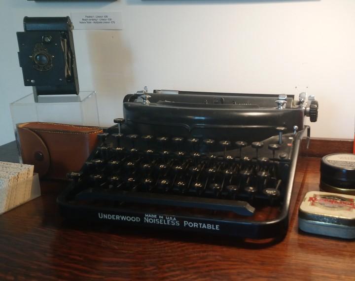 Sarah Stewart typewriter