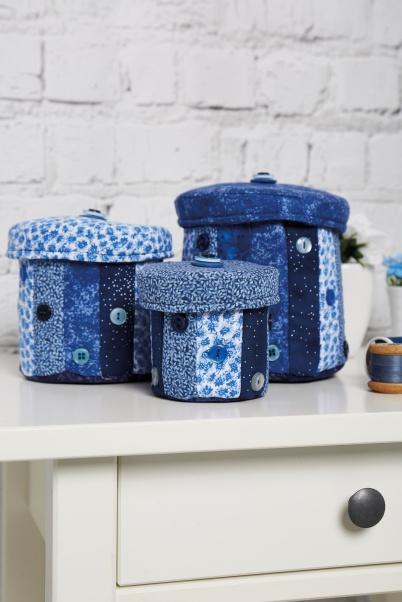 China Blue Jars by Amanda Jane Ogden
