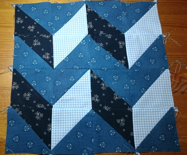 March quilt block, Amanda Jane Textiles